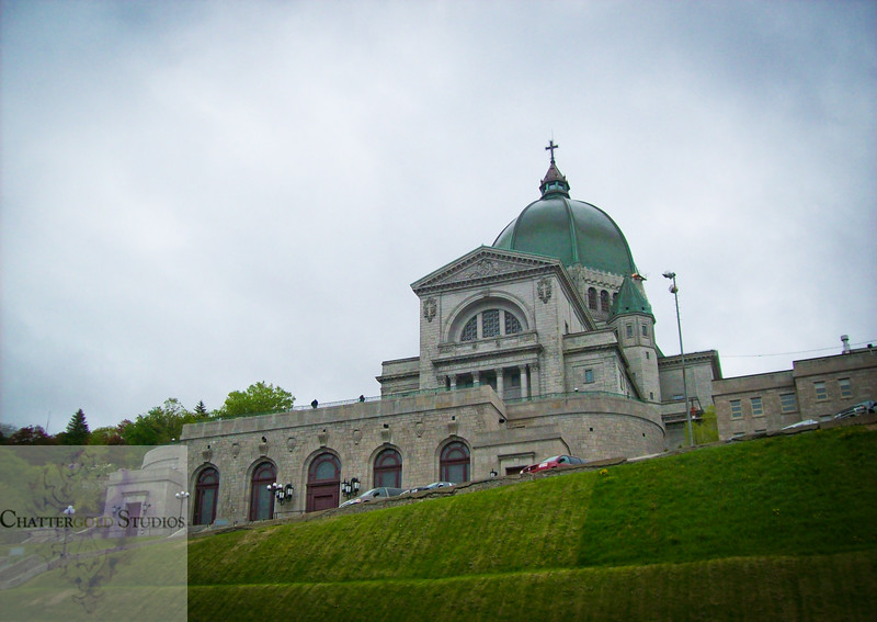 St.Joseph's Oratory in Montreal on a Cloudy Day