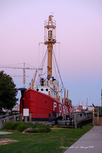 Famous Coast Guard ship from the past in Portsmouth, VA