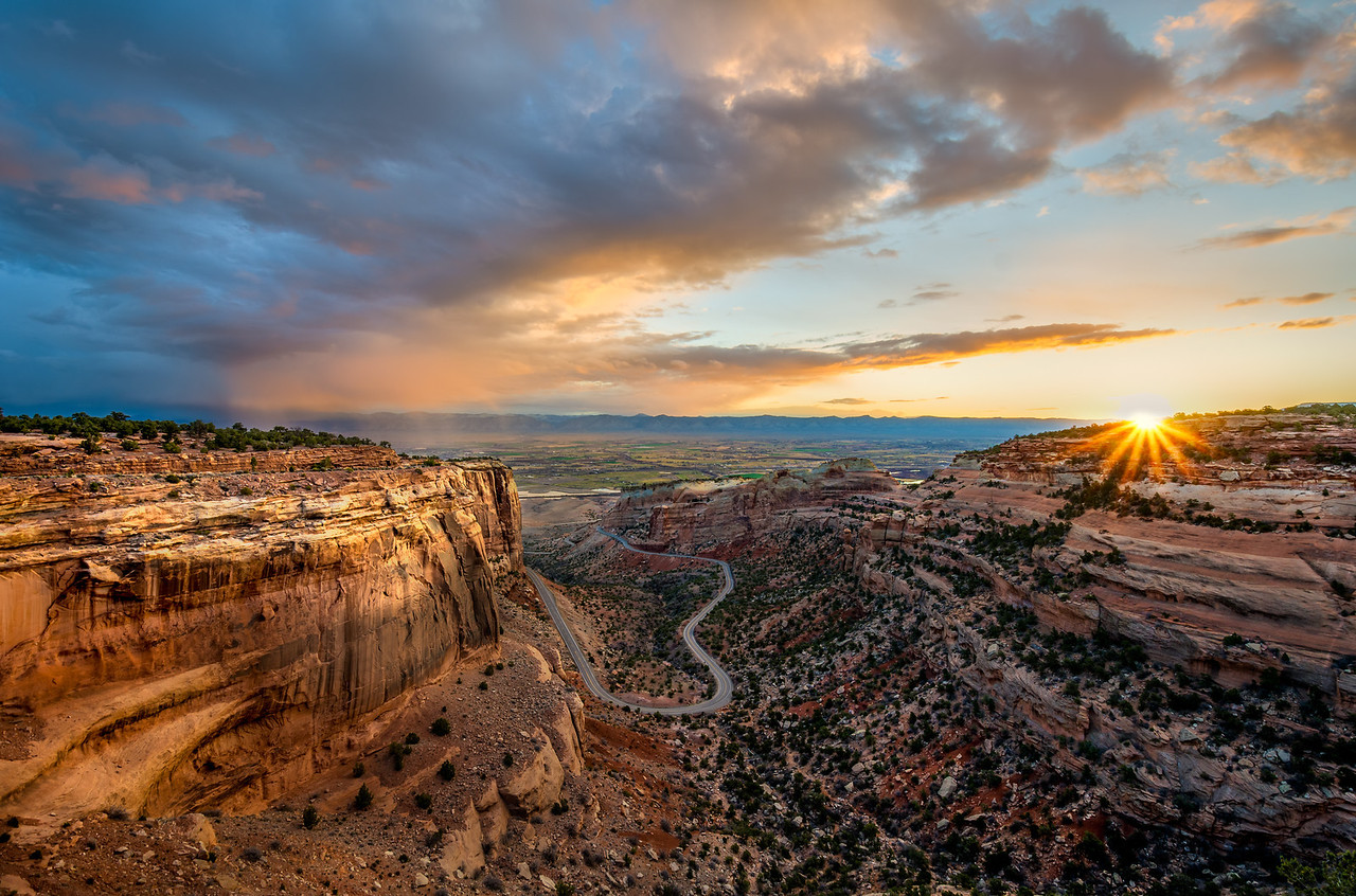 On the Edge of Daybreak – Colorado National Monument