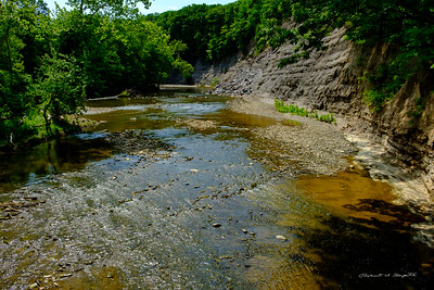 Rocky River, seen from the  Nature Center