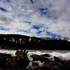 Iced over, Brainard Lake.