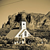 Desert church.