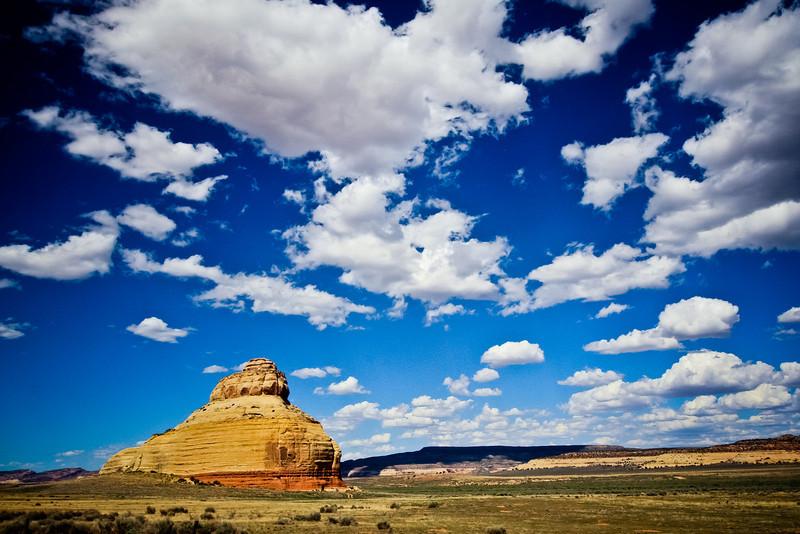 Outside Moab.