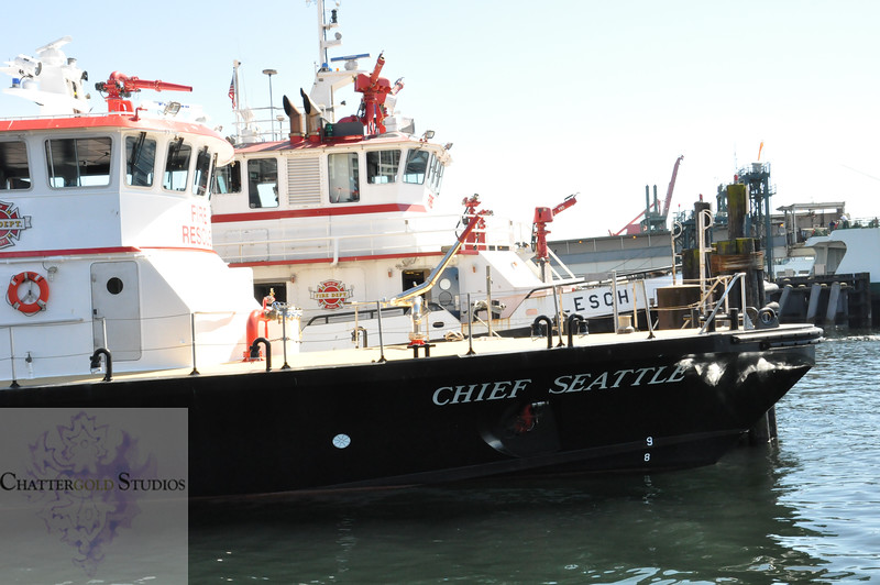 Chief Seattle Boat, Seattle, Washington