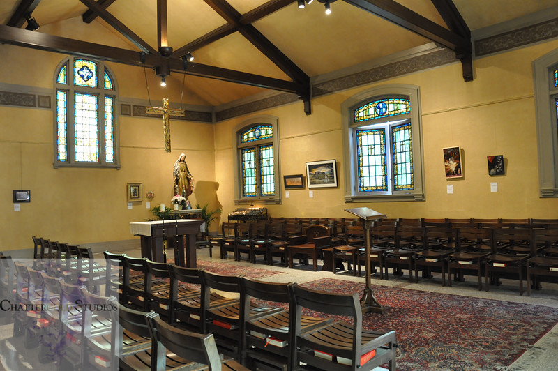 Back Chapel at St. James Cathedral in Seattle, Washington