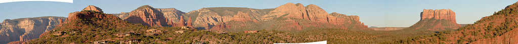 Sedona - Courthouse Rock Pano (too wide for my prog. to edit clippings).