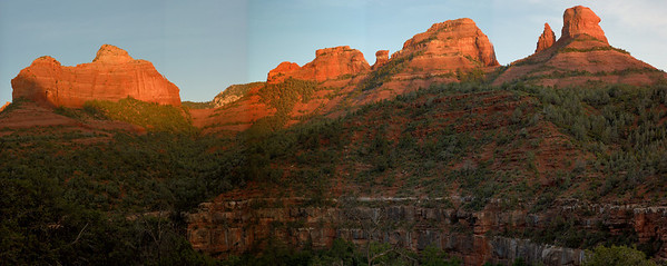 Oak Creek Canyon Pano