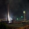 American Tobacco Campus - Durham, NC<br /> (Smoke clearing after the Independence Day fireworks show.