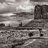Monument Valley B&W II