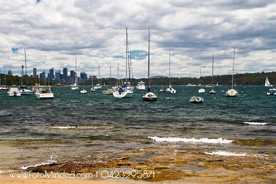 Sydney CBD view from Watson Bay