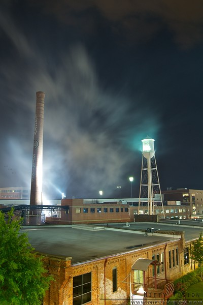 American Tobacco Campus - Durham, NC<br /> (Taken shortly after the Independence Day fireworks show.)