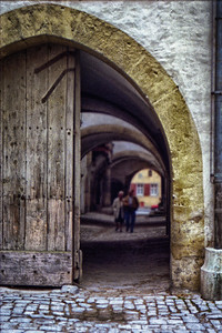 European doorway
