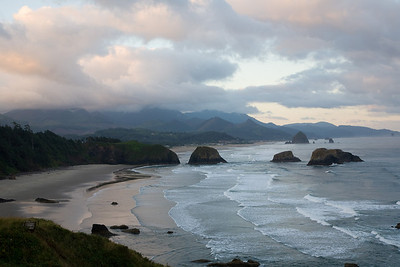 Dawn, Cannon Beach, Oregon