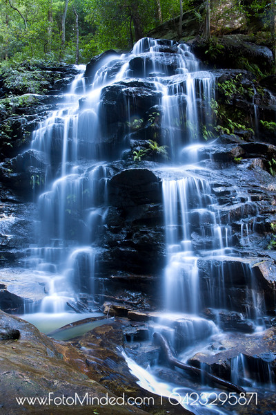 Empress Falls, Valley of Waters, NSW, Australia