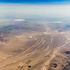 Solar Energy Farm in Nevada, aerial photography