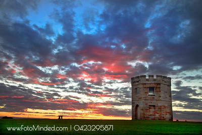 Sunset at La Perouse, NSW, Australia