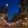 """Christmas, Downtown Raleigh""<br />  Fayetteville Street"