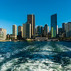Leaving Circular Quay, Sydney Harbor