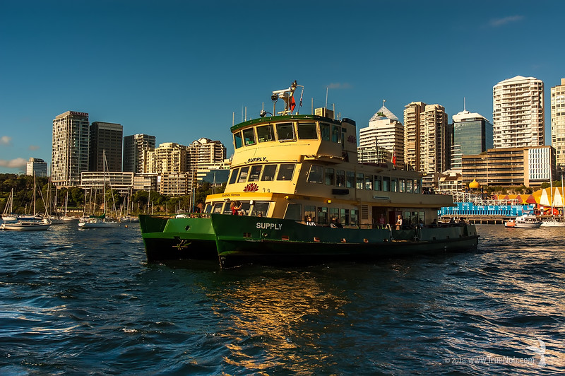 Ferry, Sydney Harbor