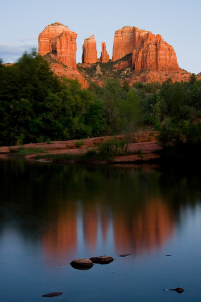 Cathedral Rocks Reflections