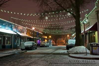 A Snowy City Market Street 1
