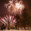 Go Out with a Bang - Fireworks on the Boston Commons following the First Night parade.