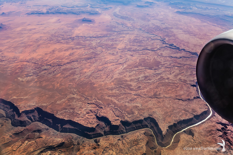 Grand Canyon, aerial photography