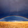 Prairie Double Rainbow