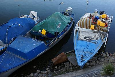 Fishing boats on Lake Tiberius
