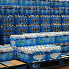 Thousands of Plastic Bottles of Water
