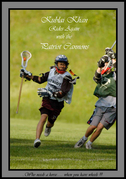 150606- 076 Cannons Practice June 15  ac Kublai Poster web