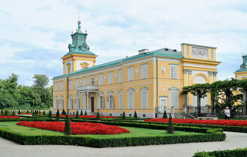 Wilanów Palace - north wing