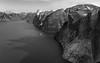 Heliflight over Sam Ford Fjord, Baffin Island, Canada