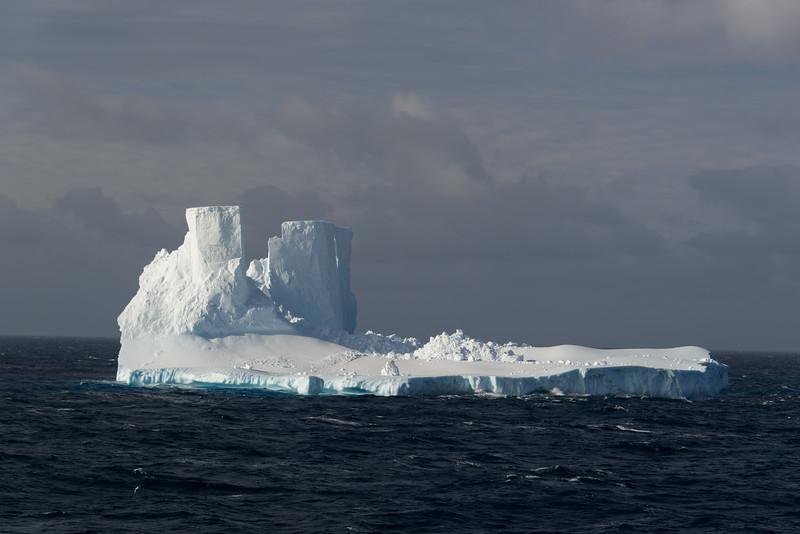 Icebergs in the Ross Sea