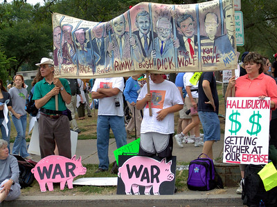 "Anti-War Protest ""March on Washington"""