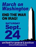 "Anti-War Protest ""March on Washington"""