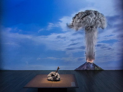 Vesuvious Erupts