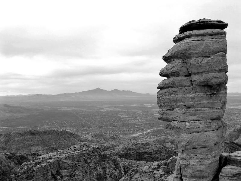 December 2006: Windy Point, Tucson.