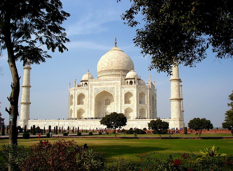 January 2006: The Taj Mahal - Agra, India