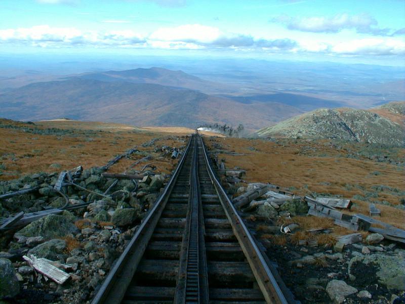 October 1999: Mt.Washington, Cog Railway