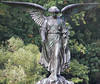 The Bethesda Fountain Angel in Central Park.
