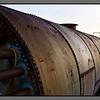 The Tank - its rusty shell