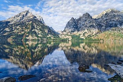 Jenny Lake Morning Reflection