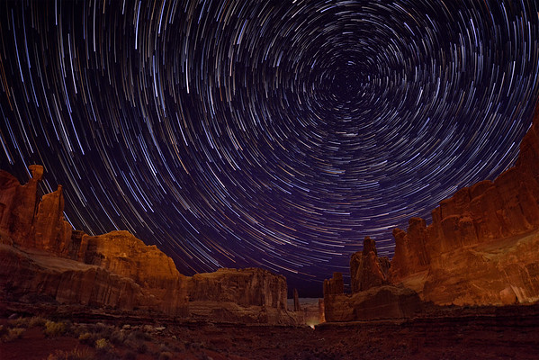 Comet Stars at Park Place in Arches