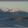 Soon landing in Bodø - passing the islands just outside the city.