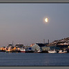 Moon over Burøya