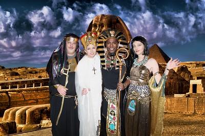 Team Zebra's Masquerade VI...A Night with The Egyptians