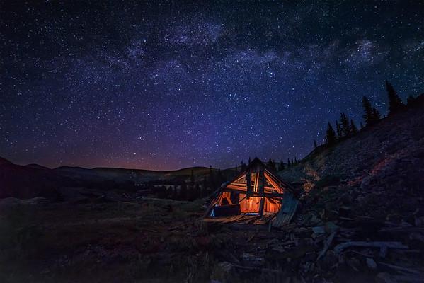 Leadville Mine and Milky Way