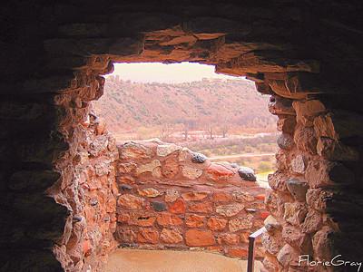 Rainy Day at Tuzigoot  Near Sedona, Arizona