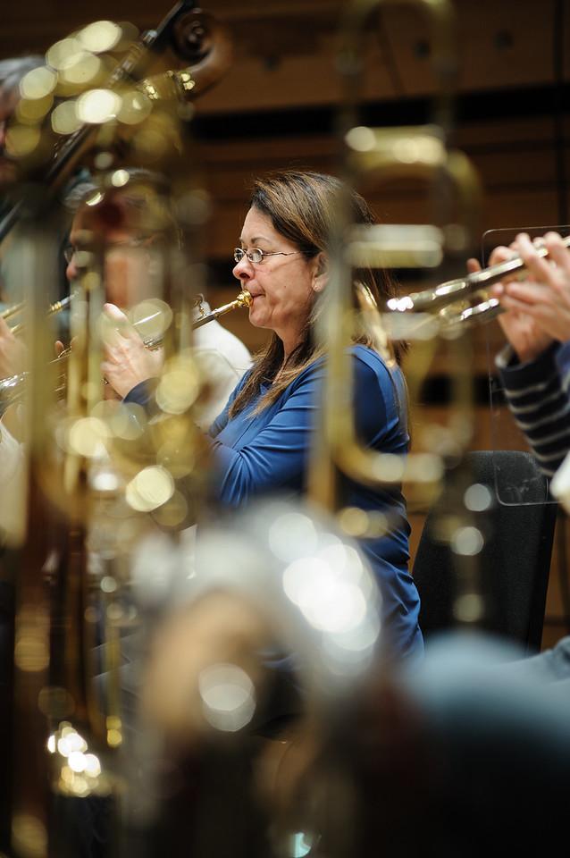 Lise Bouchard, trompettiste à l'Orchestre Métropolitain